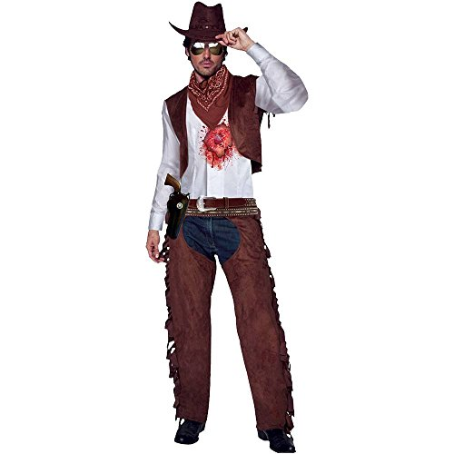 Morphsuits Men's Morphcostume Co Beating Heart Cowboy Male Digital Costume