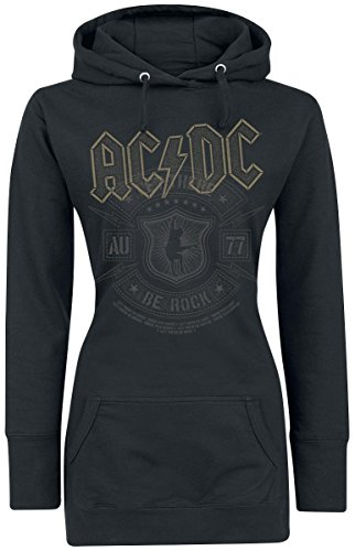AC/DC Let There Be Rock Felpa donna nero M