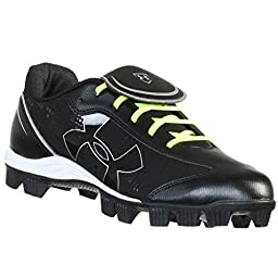 Women\'s Under Armour Glyde RM CC Softball Cleat Black/White Size 7.5