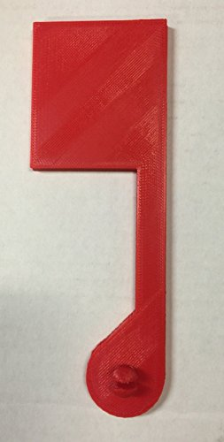 red-replacement-flag-for-rubbermaid-large-capacity-mailbox-snap-fit-plastic-perfect-fit-no-installat