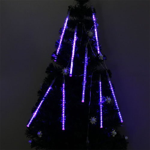 30cm 8 Tube 160 Leds Blue Color Shower Meteor