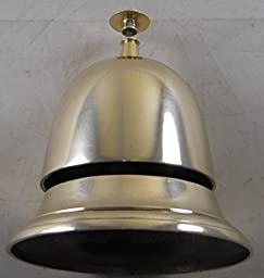 Solid Brass Beehive Style Service Desk Bell