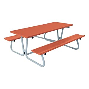 Folding Aluminum Picnic Table from Southern Aluminum