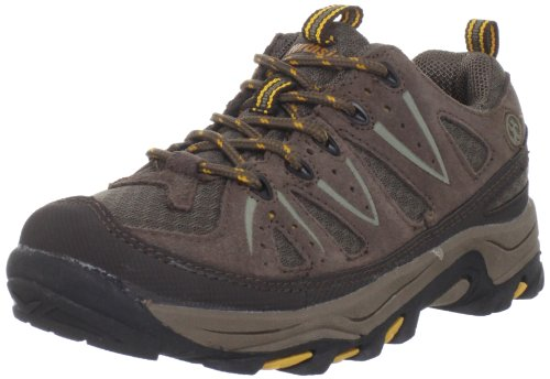 Northside Cheyenne JR Hiking Boot (Little Kid/Big Kid),Taupe/Mango,12 M US Little Kid (Kids Hiking Shoes compare prices)