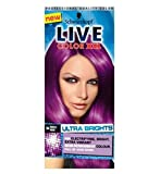 The no commitment, semi-permanent formula is extremely versatile from full head colour;to dip dye or just a top up or you colour, this purple shade is for you. We recommend LIVE Color XXL HD Ultra Brights Purple Punk 94 for: • Bleached, Lightener, Hi...