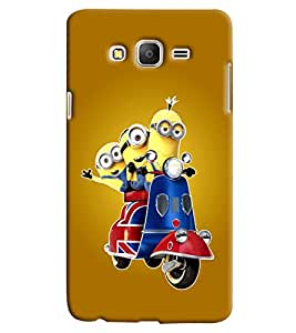 Clarks Printed Designer Back Cover For Samsung Galaxy On5