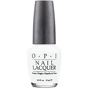 OPI Nail Lacquer, Alpine Snow, 0.5 Ounce
