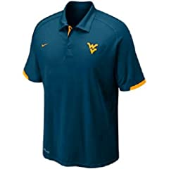Nike WV Mountaineers Training Polo by Nike