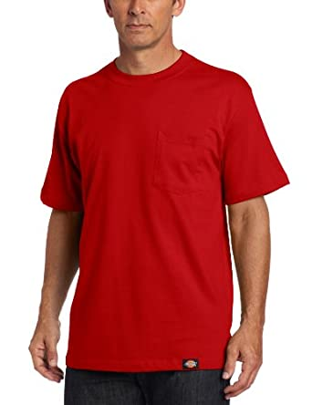 Dickies men 39 s big tall short sleeve pocket tee for T shirt for tall man