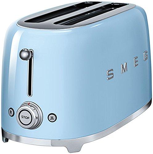 Smeg 4 Silce Toaster Pastel Blue