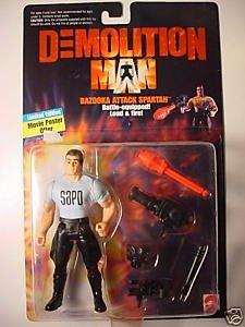 Demolition Man ~ Bazooka Attack Spartan - 1