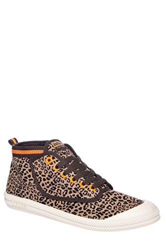 Men's High Leap Suede Mid Top Sneaker