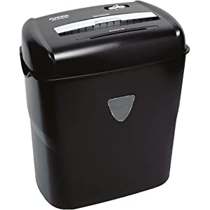 Aurora AS1015CD 10-Sheet Cross-Cut Paper/Credit Card/CD Shredder with Basket