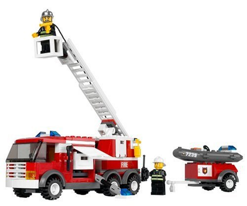 Lego Fire Trucks in Action Lego City Fire Truck 7239