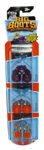 Matchbox Big Boots 3-Pack Figure Set - Cyborg Blasters - 1