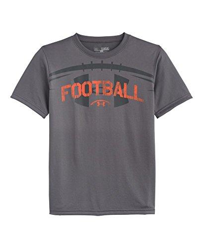 Under armour big boys ua football t shirt best men fashion for Under armor football shirts