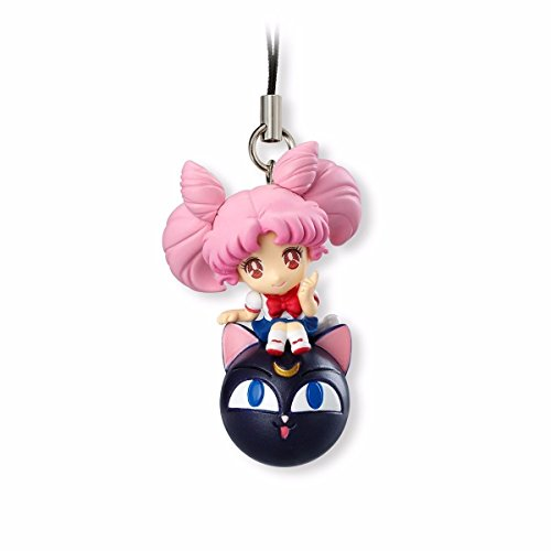 Sailor Moon Twinkle Dolly~Figure Mobile Mascot Charm~Chibi Moon - 1
