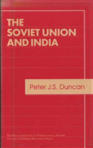 The Soviet Union and India (Chatham House Papers) Image