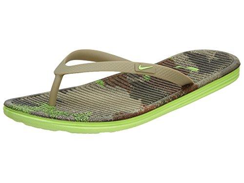 Nike Solarsoft 2 Print Women's Flip-Flop #553486-012 (10)