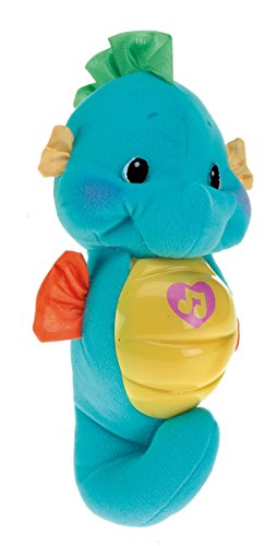 Blue Baby Toys : Fisher price soothe and glow seahorse blue baby toddler