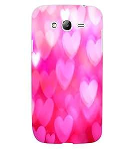 ColourCraft Hearts Design Back Case Cover for SAMSUNG GALAXY GRAND NEO PLUS I9060I
