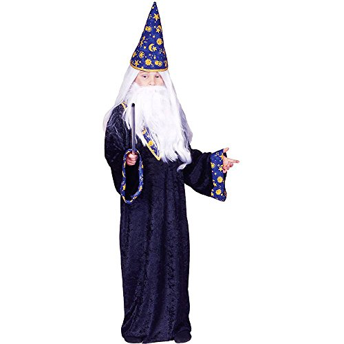 Black Magic Wizard Kids Costume