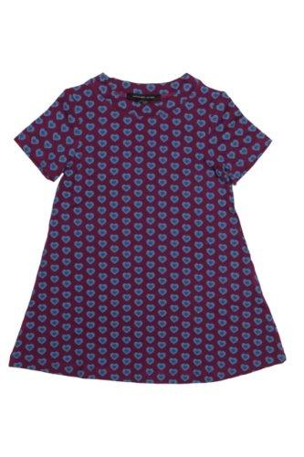 Little Marc Jacobs Dress Heart Breaker, Color: Purple1, Size: 98