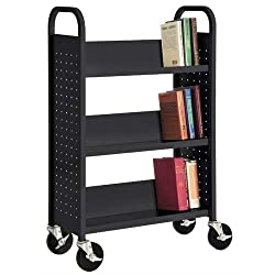 The Seasoning Products Sale Portable Bookcase On Wheels