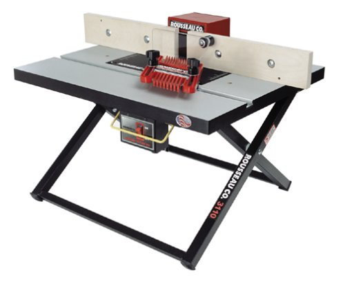 Rousseau 3110 Benchtop Folding Router Table