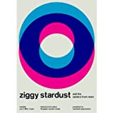 Ziggy Stardust Reimagined Concert Poster||AFTTO ||EVAEX