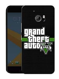 "Humor Gang Game Life Printed Designer Mobile Back Cover For ""HTC 10"" (3D, Matte, Premium Quality Snap On Case)"