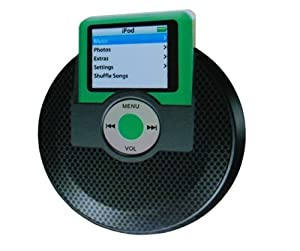 Black Portable Mini Speaker for IPOd Nano 3rd gen.
