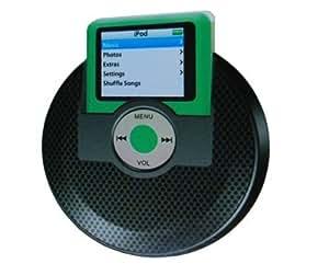 Black Portable Mini Speaker for IPOd Nano 3rd gen.