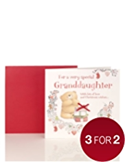 Granddaughter Forever Friends™ Christmas Card