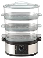 Morphy Richards 48755 3 Tier Food Steamer, Stainless Steel by Mph