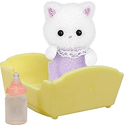 Sylvanian Families Persian Cat Baby Doll (Multi-Colour) by Sylvanian Families