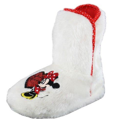 Disney , Mädchen Sneaker Weiß weiß, Weiß - weiß - Größe: 7 Child UK