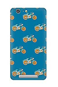 ZAPCASE PRINTED BACK COVER FOR GIONEE MARATHON M5 - Multicolor