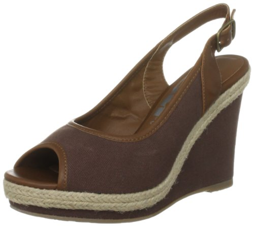 Xti Women's 25246 Brown Slingbacks Heels XTI200451114 3 UK