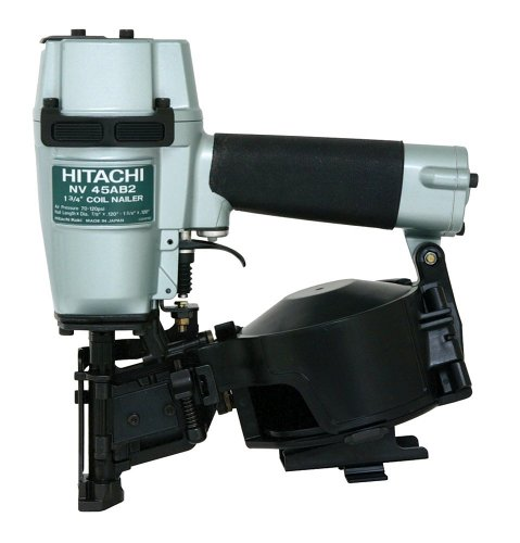 Hitachi NV45AB2 7/8-Inch to 1-3/4-Inch Coil Roofing Nailer (Side Load) (Roofing Coils compare prices)