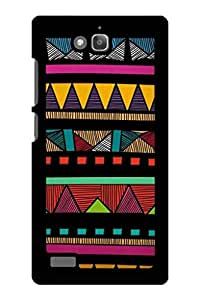 Caseque Tribal Salsa Aztec Back Shell Case Cover For Huawei Honor 3C