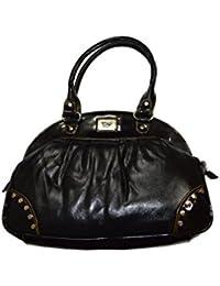 Knott Trendy Black Handbag For Women