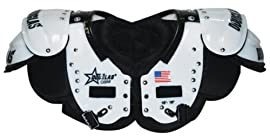 Douglas® PSQB SP Series Adult Football Shoulder Pads (Quarterback/Wide Receiver/Defensive Back) (Call 1-800-327-0074 to order)
