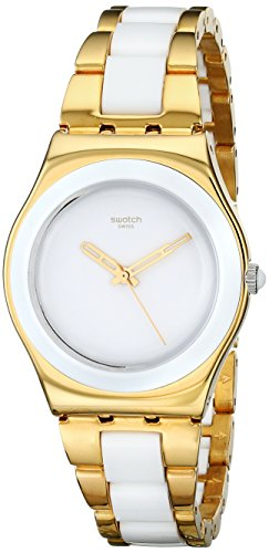 Swatch Yellow Pearl YLG122G - Orologio donna
