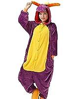 Zicac Unisex Adult Children Kids Anime Cosplay Costumes Onesie Children and Adult Children Kids Pajamas Pyjamas Sleepwear Nightclothes Cosplay Gift For Hallowmas