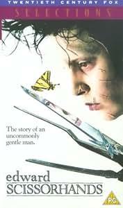 Edward Scissorhands [VHS] [1991]