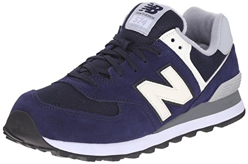New Balance NBML574VAB Scarpe da Atletica Uomo, Blu (Navy Athletic Grey), 43