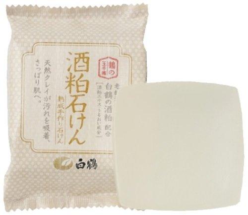 白鶴 酒粕石鹸 100g