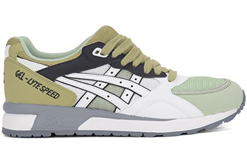 ASICS GEL Lyte Speed Retro Running Shoe, White/White, 7 M US