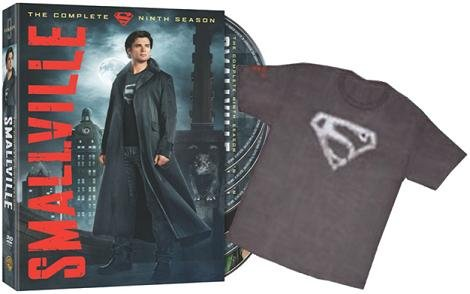 "Smallville: The Complete Ninth Season (Special Edition with Smallville ""Blur"" T-Shirt On-Pack)"